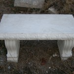 MEDIUM CONCRETE BENCH