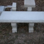 LARGE CONCRETE BENCH